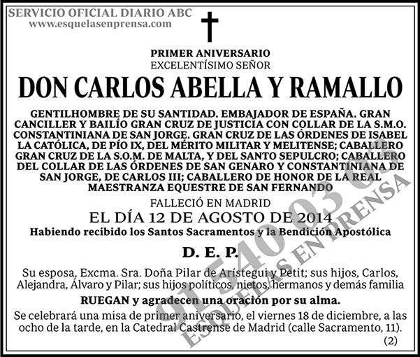Carlos Abella y Ramallo